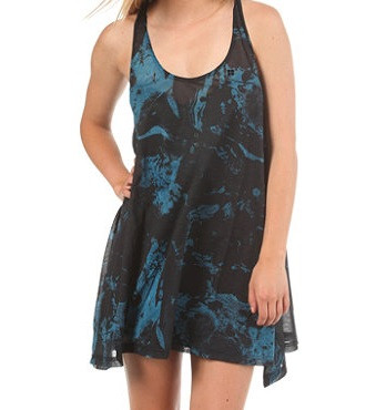 INSIGHT VESTITO DONNA  MARBLING DRESS  BLACK