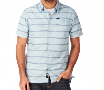 PROTEST CAMICIA UOMO MIAMI SOFT BLUE