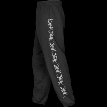 POWELL PERALTA PANTALONI UOMO RATS SWEATPANTS BLACK