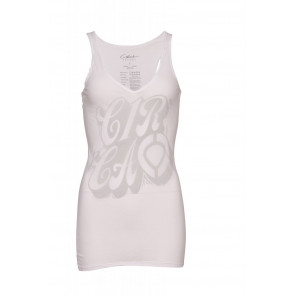 C1RCA TOP DONNA GLYPH ICON TANK WHITE
