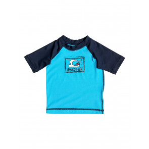 QUICKSILVER LICRA BAMBINO BABY BUBBLE DREAM S/S BLUE DANUBE