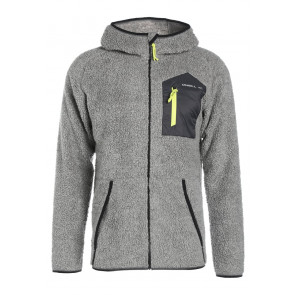 O'NEILL FELPA UOMO PM KINETIC OUTDOOR FLEECE SILVER MELLE