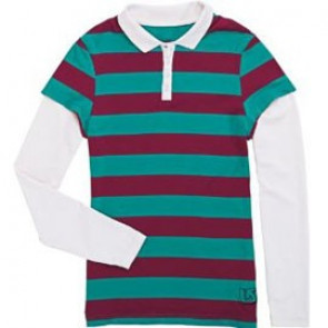 BURTON LONG SHIRT DONNA WNS POLO TROP GRN