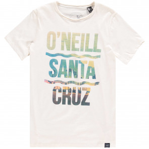 O'NEILL T-SHIRT BIMBO  SURF CITY POWDER WHITE