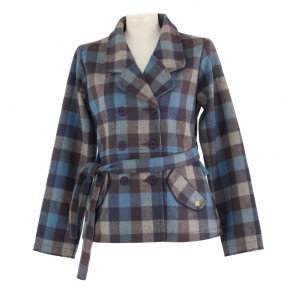 DC GIACCA DONNA UPTOWN BLUE PLAID