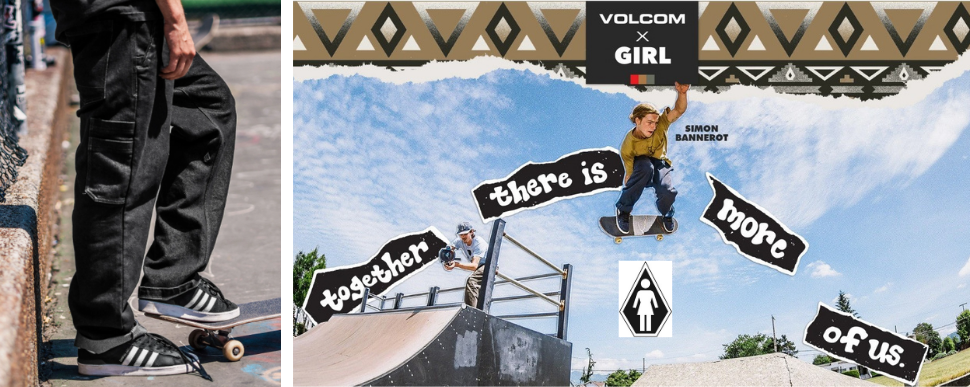 Volcom x GIRL Skateboards