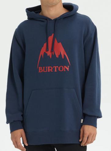 BURTON FELPA UOMO MB CLASSIC MOUNTAIN HIGH PULLOVER HOODIE MOOD INDIGO