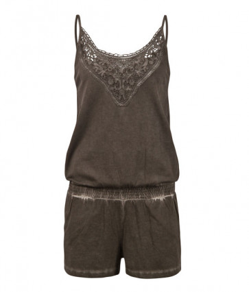 PROTEST VESTITO DONNA  JUMPSUIT ACACIA DARK EARTH