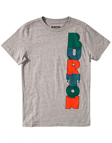 BURTON T-SHIRT BIMBO BOYS SUPER HERO GREY
