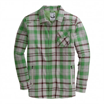 BURTON CAMICIA GIACCA UOMO MAPLE FLNL IRON GRAY