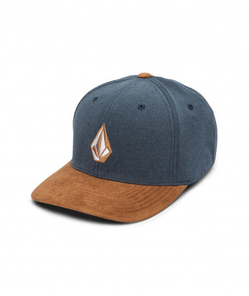 VOLCOM CAPPELLINO FLEXFIT FULL STONE HEATHER XFIT ATL