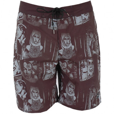 OBEY BOARDSHORT UOMO CITY JUNGLE SLATE