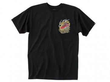 VANS T-SHIRT BIMBO THE DRAGON BOYS BLACK
