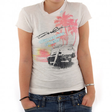CULT T-SHIRT DONNA DREAM WHT
