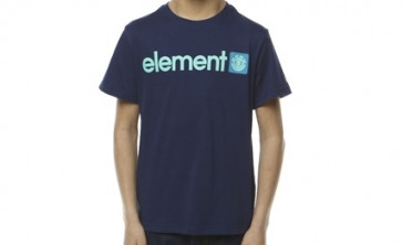 ELEMENT T-SHIRT BIMBO LOGO MARINE