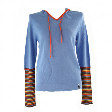 BURTON MAGLIA DONNA BW TAG ME HOOD SWEATER BRILLIANT BLUE