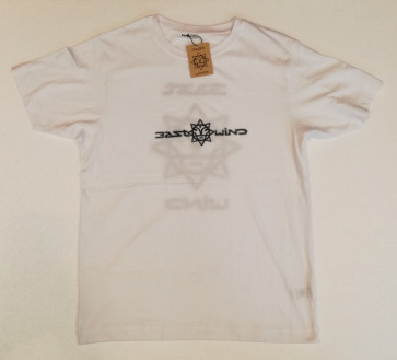 EAST WIND T-SHIRT UOMO LOGO WHITE