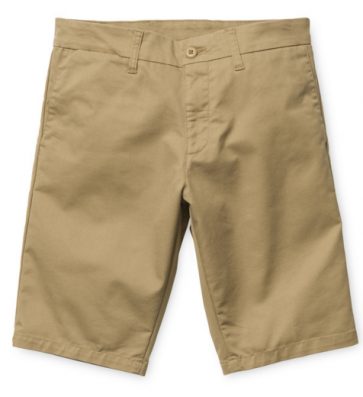 CARHARTT SHORTS UOMO SID BERMUDA LAMAR LIGHT STONE WASHED