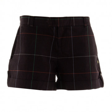 INSIGHT SHORT DONNA WASH THE SPIDER BLK