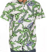 INSIGHT CAMICIA UOMO JAWS SHIRT JAWS FLORAL