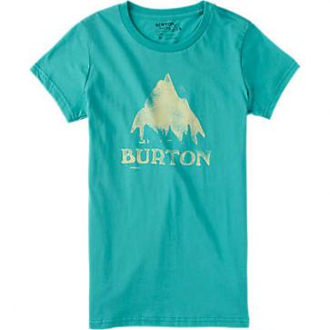 BURTON T-SHIRT DONNA   WB STMPD MTN SS LAGOON