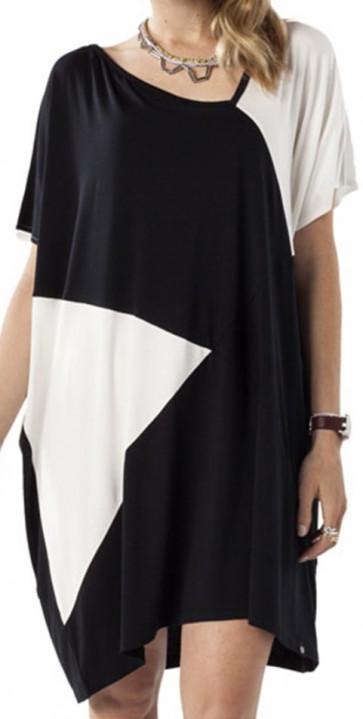NIKITA VESTITO  EAMES DRESS JET BLACK
