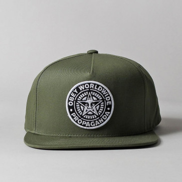 OBEY CAPPELLINO CLASSIC PATCH SNAPBACK OLIVE