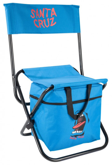 SANTA CRUZ SEDIA CON MINI FRIGO SCREAMING HAND CHAIR BLUE