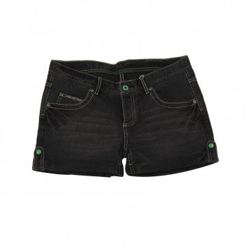 SHORT DENIM BLK