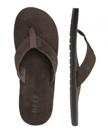 REEF INFRADITO UOMO LEATHER SMOOTY BROWN