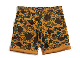 OBEY SHORTS UOMO TRACKS SHORT BUBBLE CAMO