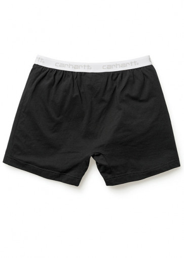 CARHARTT BOXER TRUNK SHORT BLACK WHITE/GREY