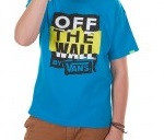 VANS T-SHIRT BIMBO B SKATEY EIGHT TURQ
