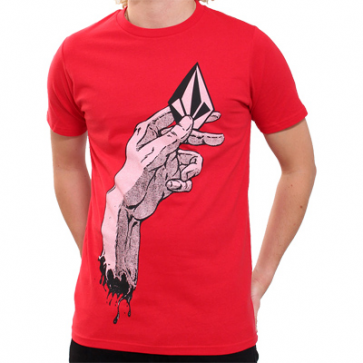 VOLCOM T-SHIRT BIMBO HAND IT OVER DPR