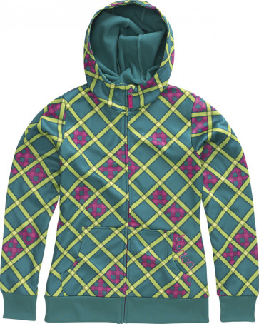 BURTON FELPA DONNA WB SCOOP HDD PRISM PLAID IN A PLAID