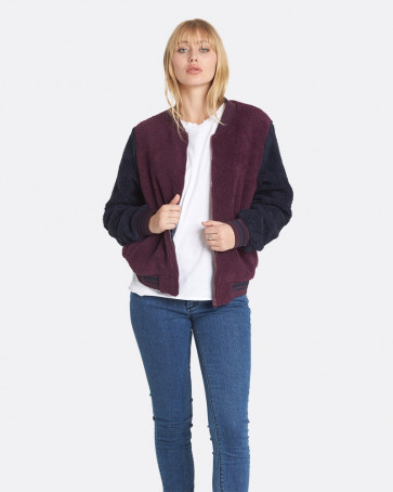 new style d5e0c 996d8 ELEMENT GIACCA DONNA WORD WINE - East Wind Skate Shop
