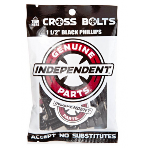 "INDEPENDENT VITI GENUINE PHILLIPS HARDWARE 1 1/2"" BLACK"