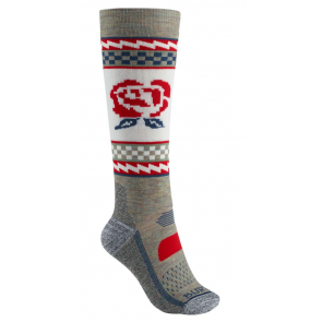 BURTON CALZE DONNA W PERFORMANCE MIDWEIGHT SOCK OATMEAL HEATHER