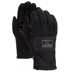 BURTON GUANTI SNOWBOARD UOMO MB EMBER FLEECE GLOVE TRUE BLACK