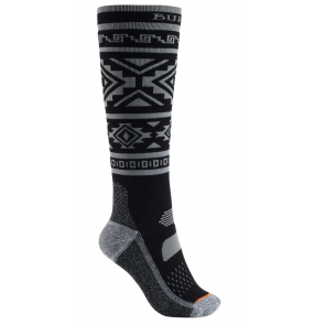 BURTON CALZE DONNA W PERFORMANCE MIDWEIGHT SOCK TRUE BLACK