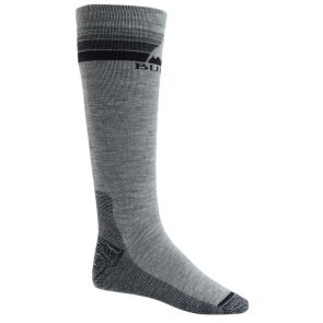 BURTON CALZE UOMO M EMBLEM MIDWEIGHT SOCK GRAY HEATHER
