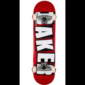 """BAKER SKATEBOARD COMPLETO 7,75"""" RED"""