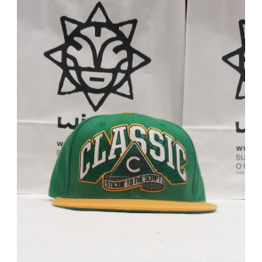 CLASSIC CAPPELLINO SNAPBACK GREEN/YELLOW