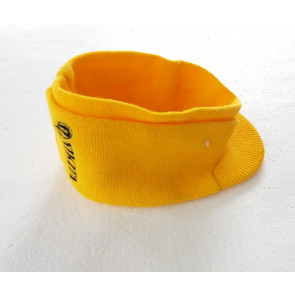 NIKITA BERRETTO BEANIE VISAGES BAND YELLOW