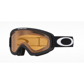 OAKLEY MASCHERA SNOWBOARD O-FRAME 2.0 PRO XS MATTE BLACK / PERSIMON ( 2 LENS INCLUDED)