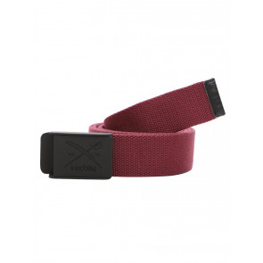 IRIEDAILY CINTURA UOMO FLAG RUBBER BELT RED WINE