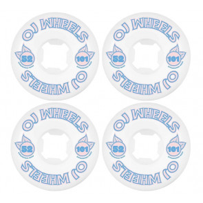 OJ WHEELS RUOTE SKATE FROM CONCENTRATE HARDLINE 101A 52MM