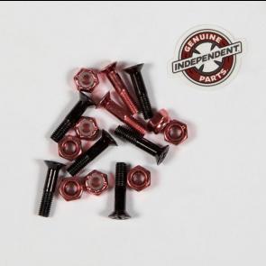 "INDEPENDENT VITI GENUINE PHILLIPS HARDWARE 8 PZ. 7/8"" BLACK RED"