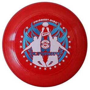 WHAM-O FRISBEE DISC ULTIMATE RED 175 GRAMMI