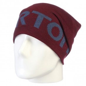 BURTON BERRETTO BEANIE MNS BILLBOARD SLCH CRIMSON TEAM BLUE